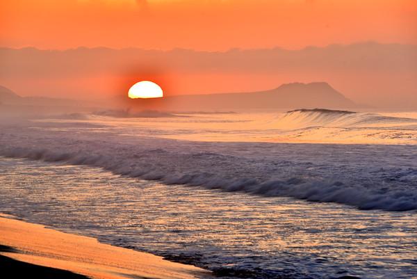 Pretty sunrise in Cabo