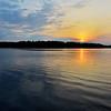 Wonderful restoule sunrise