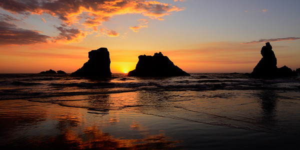 Sunset in Bandon Oregon