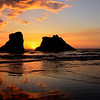 Sunset in Bandon Oregon