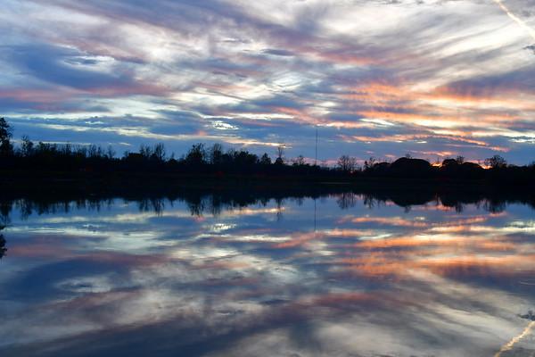 Sunset on Lake Gibson