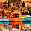 Sunrise on Fishing Boat natural