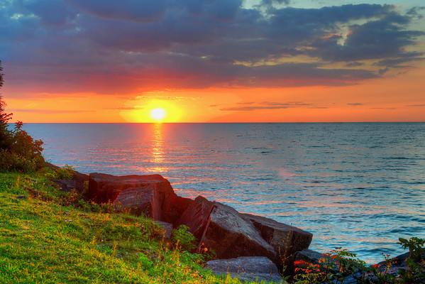 Lake Ontario Sunset in NOTL