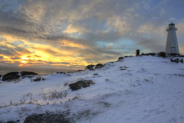 Sunrise and Lighthouse