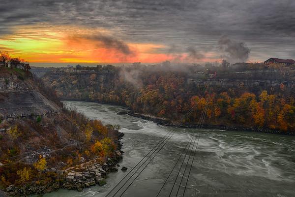 Sunrise at Whirlpool Rapids