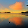 Sunrise on Smoke Lake