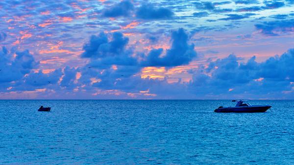 Fiery Anguillan Sky