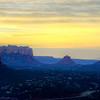Sedona Sunrise on Friday pano