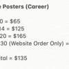 Posters (Career 2)