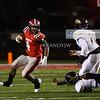 Tameron Patterson (4) runs the ball.
