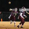 Quinton Knight (2) throws the ball.