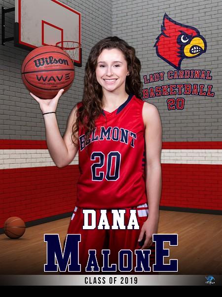Dana Malone - Basketball (3x4)