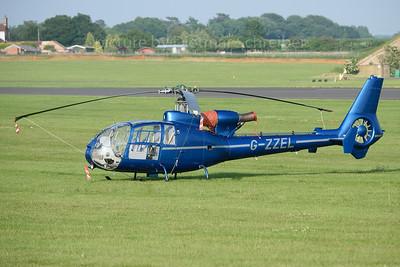 2018-06-09 G-ZZEL Aerospatiale SA341B Gazelle