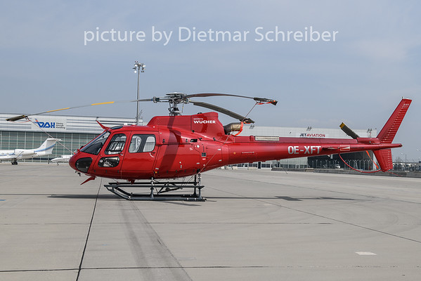 2019-04-08 OE-XFT AS350 Wucher Helicopter