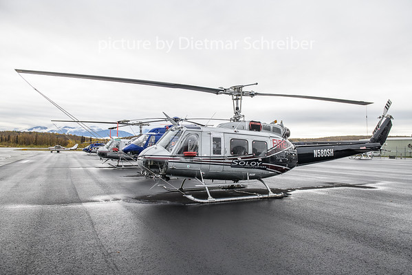 2018-09-28 N580SH Bell 205  Soloy Helicopters