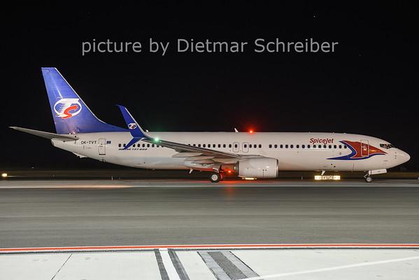 2021-01-08 OK-TVT Boeing 737-800 Spicejet