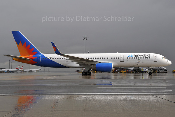 2012-03-30 G-LSAK Boeing 757-200 RAK Airways