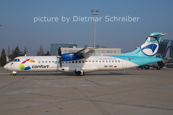 2011-02-25 OM-VRC ATR72 Confort AIrlines