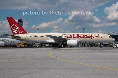 2011-05-16 TC-OGT Boeing 757-200 Atlas Jet