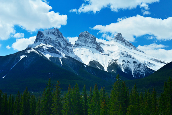 Three Sisters in Canmore