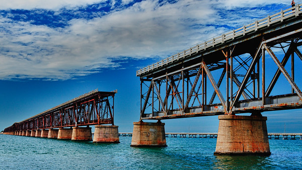 Seven Mile Bridge old
