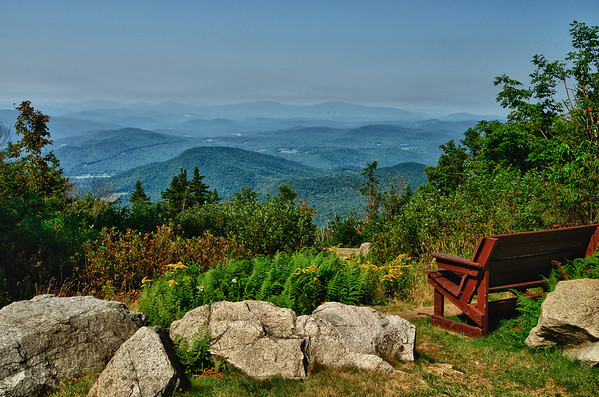 View from Mt  Ascutney