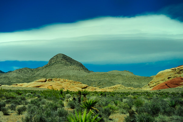 Clouds in Red Rock Canyon
