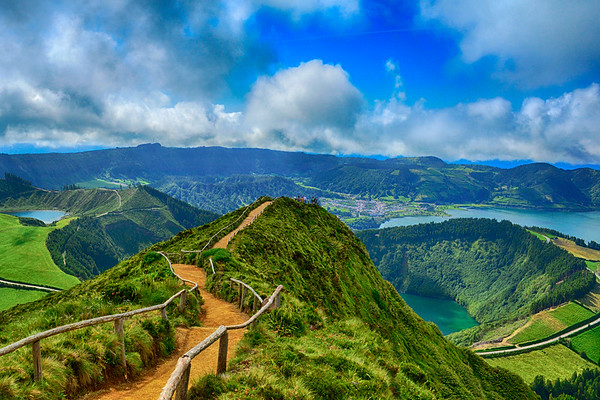 Amazing View in Azores HDR