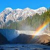 Wapta Falls and rainbow