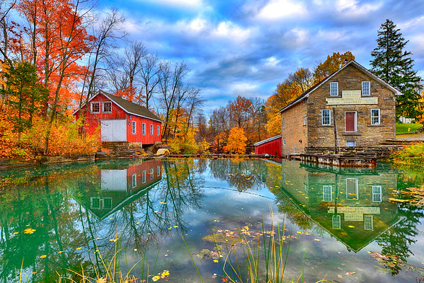 Morningstar mills reflection