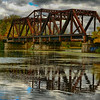 Sept 2017 Rusted Bridge on Welland River, Niagara Falls, Ontario