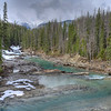 Yoho River horizontal near Natural Bridge