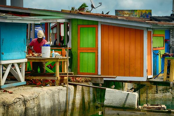 Fisherman in harbour - Copy