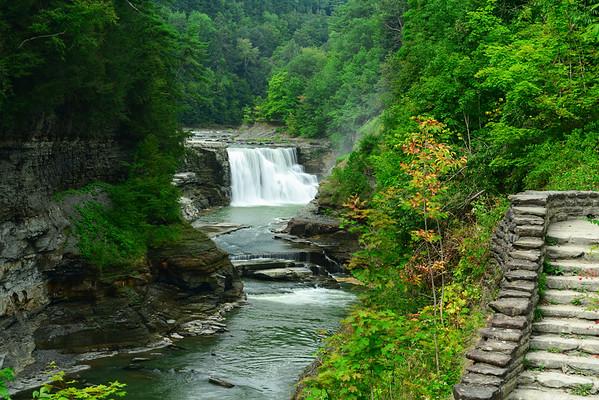Lower Falls and rapids - June 2014