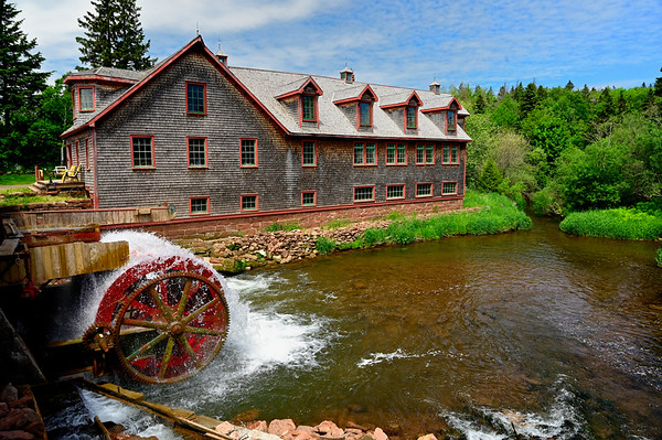 Gristmill in PEI - June