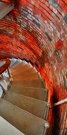 Winding stairs in Lighthouse