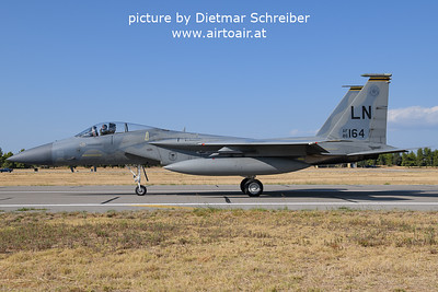 2021-09-04 86-0164 F15 Eagle USAF