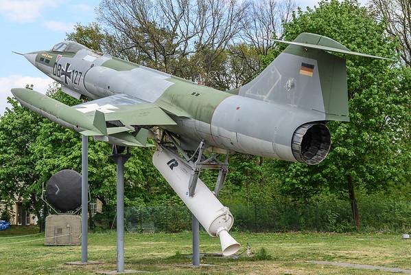 2019-04-27 DB-127 F104 Starfighter German Air Force