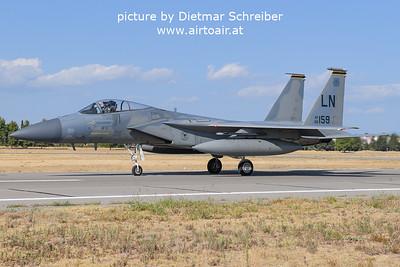 2021-09-04 86-0159 F15 Eagle USAF
