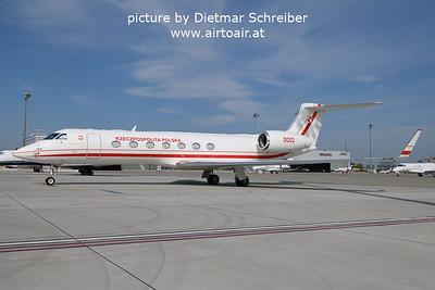2021-09-07 0002 Gulfstream 5 Polish AIr Force