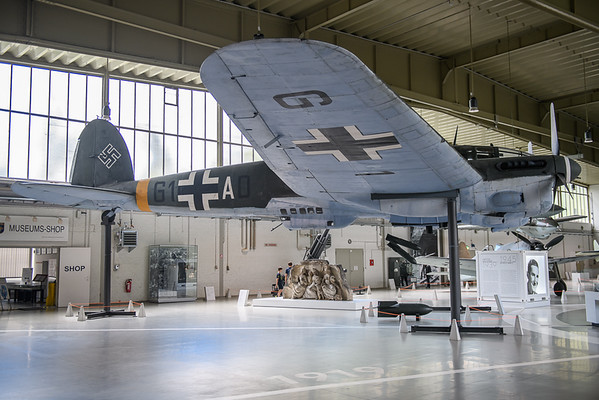 2019-04-27 G1+AD Heinkel He111 German Air Force