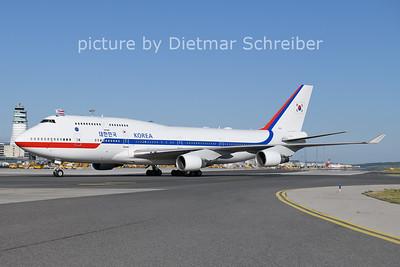 2021-06-13 10001 Boeing 747-400 Korean Air Force