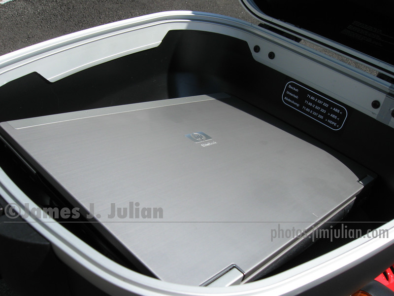 BMW Top Case and Computer 2
