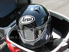 BMW Top Case and Helmet