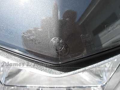 BMW Tall Windshield, Clear, Close-Up 1