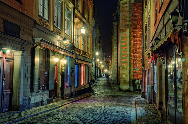 Old Town by Night X