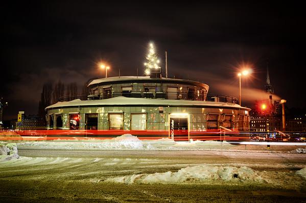 Kolingsborg Winter Night