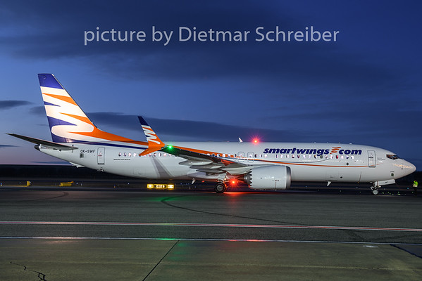 2019-01-04 O-SWF Boeing 737-800max Smartwings