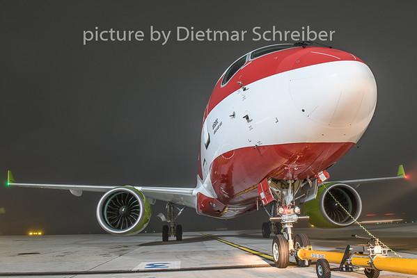2018-11-12 YL-CSL Bombarider CS300 Air Baltic