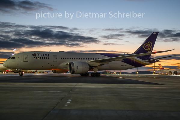2019-01-04 HS-TQB Boeing 787-8 Thai